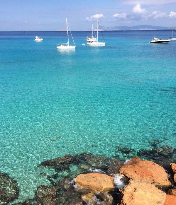 Arena Catamaran Ibiza playa cala