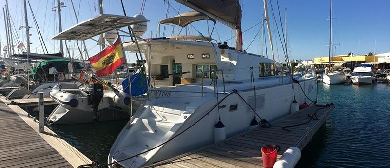 arena catamaran muelle 2