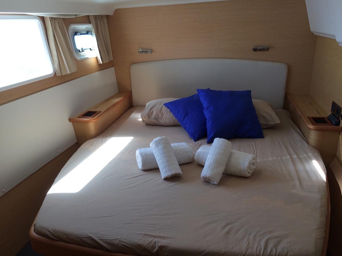 Arena Catamaran Dormitorio