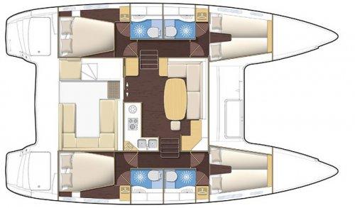 Arena Catamaran Plano